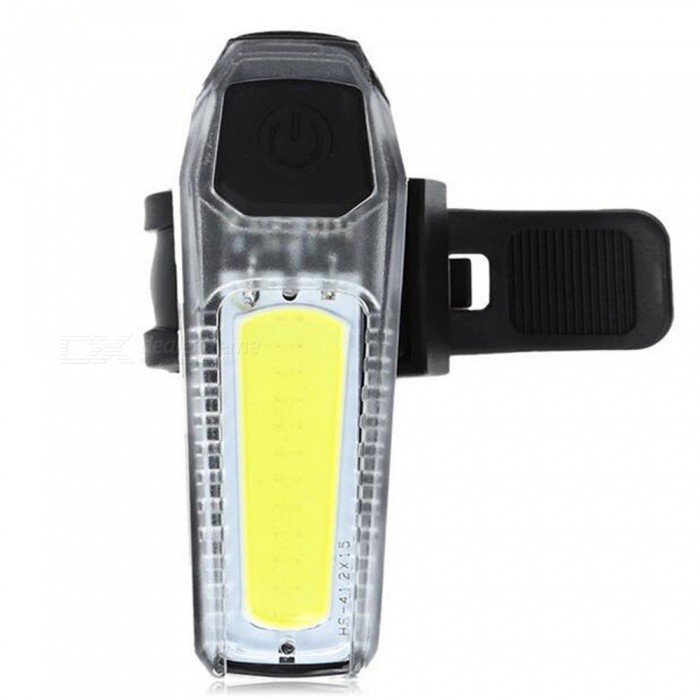 Bicycle USB Charge Waterproof 360 Rotation Safety LED Warning LightBike Light<br>Form  ColorWhiteQuantity1 DX.PCM.Model.AttributeModel.UnitMaterialPlastic + electronic ComponentsEmitter BrandOthersLED TypeOthersEmitter BINLEDColor BINRedNumber of EmittersOthers,12Input Voltage1.5 DX.PCM.Model.AttributeModel.UnitBattery1*300mAh Lithium BatteryBattery included or notYesCurrent300 DX.PCM.Model.AttributeModel.UnitNumber of Modes3Mode ArrangementLow,Slow Strobe,Fast StrobeMode MemoryNoSwitch TypeClicky SwitchSwitch LocationOthersBeam Range5 DX.PCM.Model.AttributeModel.UnitStrap/ClipClip includedApplicationSeat PostHolder Diameter2-6 DX.PCM.Model.AttributeModel.UnitWaterproofYesOther FeaturesType: Tail Light<br>Placement: Saddle Tube<br>Suitable for: Electric Bicycle,Road Bike,Touring Bicycle<br>Features: Easy to Install,Low Power Consumption,Superbright,Waterproof<br>Power Supply: USB<br>Product weight: 0.0310 kg<br>Package weight: 0.0880 kg<br>Product Dimension: 7.00 x 2.50 x 1.50 cm / 2.76 x 0.98 x 0.59 inches<br>Package Dimension: 8.00 x 8.00 x 8.00 cm / 3.15 x 3.15 x 3.15 inchesPacking List1 x Bike Tail Light1 x USB Cable<br>