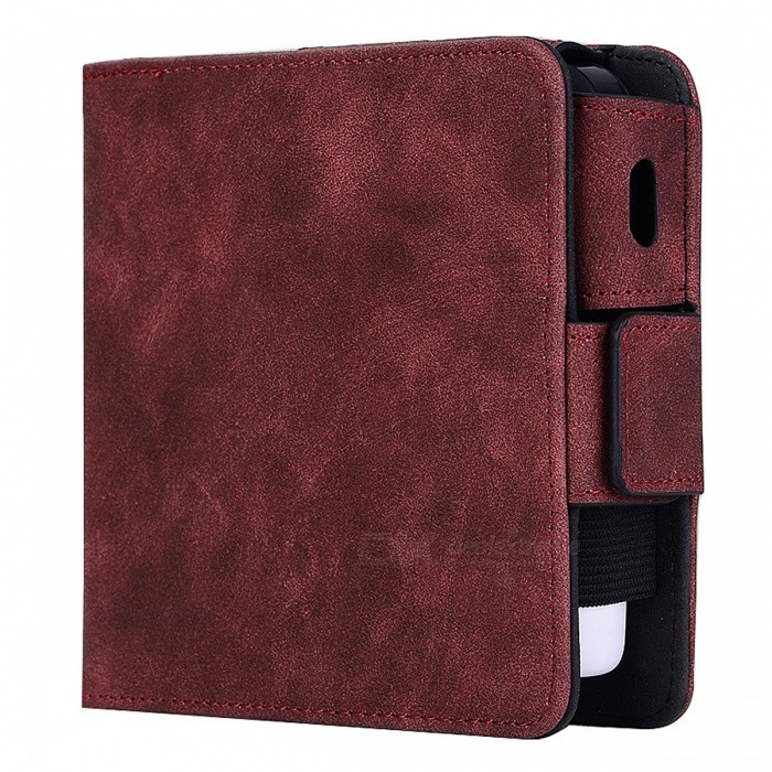KELIMA Retro Style Leather Electronic Cigarette Case - RedCigarette &amp; Cigar Supplies<br>Form  ColorRedMaterialPU LeatherQuantity1 DX.PCM.Model.AttributeModel.UnitShade Of ColorRedPacking List1 x Electronic cigarette case<br>