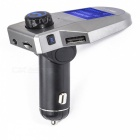 KELIMA M8S Auto Bluetooth FM Transmitter mit LCD Display - Grau