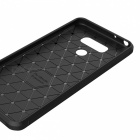 Dayspirit Wire Drawing Carbon Fiber TPU Case for LG G6 - Black