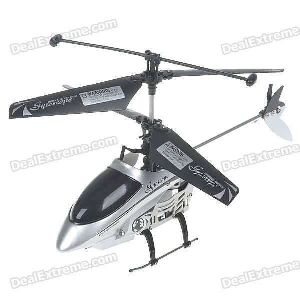 Rechargeable Wireless 4-CH Control R/C Radio Control Helicopter with Gyroscope