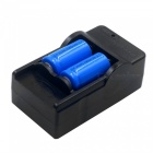 ZHAOYAO 2 PCS 3.7V 2000mAh 16340Li-ion Batteries with US Charger