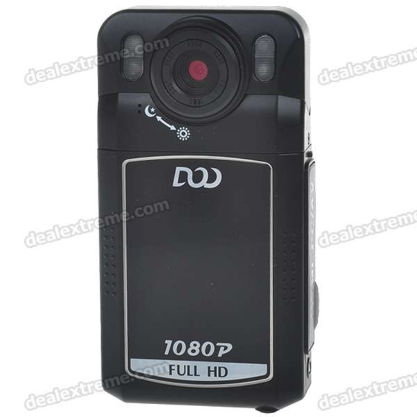 "5.0MP 1080P IR Night Vision Digital Portable Car DVR Camcorder w/ 4X ZOOM/HDMI/TV-Out/SD (2.0"" LCD)"