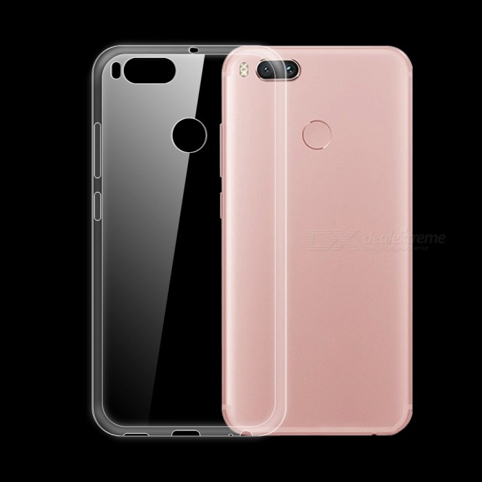 Dayspirit Ultra-Thin TPU Back Cover Case for Xiaomi Mi A1 ,(5X)TPU Cases<br>Form  ColorTransparentModelN/AMaterialTPUQuantity1 pieceShade Of ColorTransparentCompatible ModelsXiaomi Mi A1 ,(5X)Form  ColorTransparentPacking List1 x Case<br>