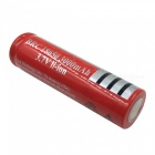 ZHAOYAO 8Pcs 3.7V 18650 3000mAh Rechargeable Lithium Battery - Red