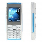 "X2 2.0"" LCD Dual SIM Dual Network Standby Dualband GSM Cell Phone w/ Flashlight + FM (Golden)"