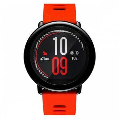 Xiaomi Huami AMAZFIT Pace Sports Smart Watch - Red + Black (English Version)