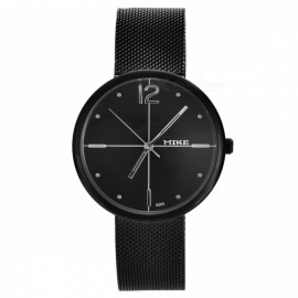 Men's Fashion Quartz Wrist Watch - Black