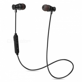 Cwxuan G2 Sports Bluetooth V4.1 Stereo Earphone with Mic - Black
