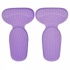 BSTUO Heel Pad Insoles Cushions Shoes Inserts for High Heels - Purple