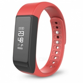 Original Iwown i5 Plus IP65 Waterproof Smart Bracelet - Red
