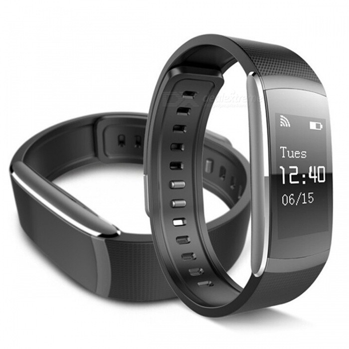 iWOWN i6 Pro Smart Bracelet with Heart Rate Sport Tracker - BlackSmart Bracelets<br>Form  ColorBlackModeli6 ProQuantity1 DX.PCM.Model.AttributeModel.UnitMaterialPlasticShade Of ColorBlackWater-proofIP67Bluetooth VersionBluetooth V4.0Touch Screen TypeOthers,OLEDCompatible OSAndroid 4.3 / iOS 8.0 and above systemBattery Capacity60 DX.PCM.Model.AttributeModel.UnitBattery TypeLi-polymer batteryStandby Time5 - 7 DX.PCM.Model.AttributeModel.UnitPacking List1 x Smart Bracelet1 x Charging Cable1 x User Manual<br>