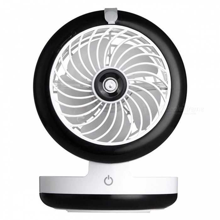 Mini Fodable Handheld Desktop USB Spray Fan - BlackForm  ColorBlackPower AdapterUSBModelWY-F4MaterialABSQuantity1 DX.PCM.Model.AttributeModel.UnitPower3.5 DX.PCM.Model.AttributeModel.UnitRate Voltage5VCertificationCEPacking List1 x Fan1 x USB charging cable1 x Small bottle for filling water1 x Manual<br>