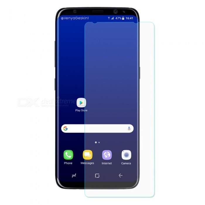 Hat-Prince 2.5D Tempered Glass Screen Protector for Galaxy S8 PlusScreen Protectors<br>Form  ColorTransparentScreen TypeGlossyModel-MaterialTempered GlassQuantity1 DX.PCM.Model.AttributeModel.UnitCompatible ModelsSamsung Galaxy S8 PlusFeatures2.5D,HD,Scratch-proof,Tempered glassPacking List1 x Screen protector1 x Dust remover1 x Cleaning cloth1 x Alcohol prep pad<br>