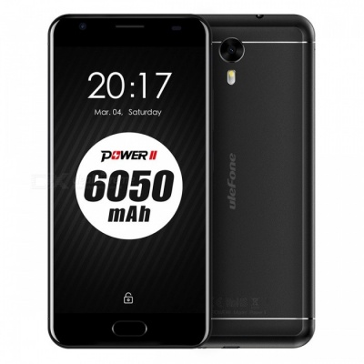 Ulefone Power 2 4G telefoon met 4 GB RAM 64 GB ROM - Zwart (Amerika Version)