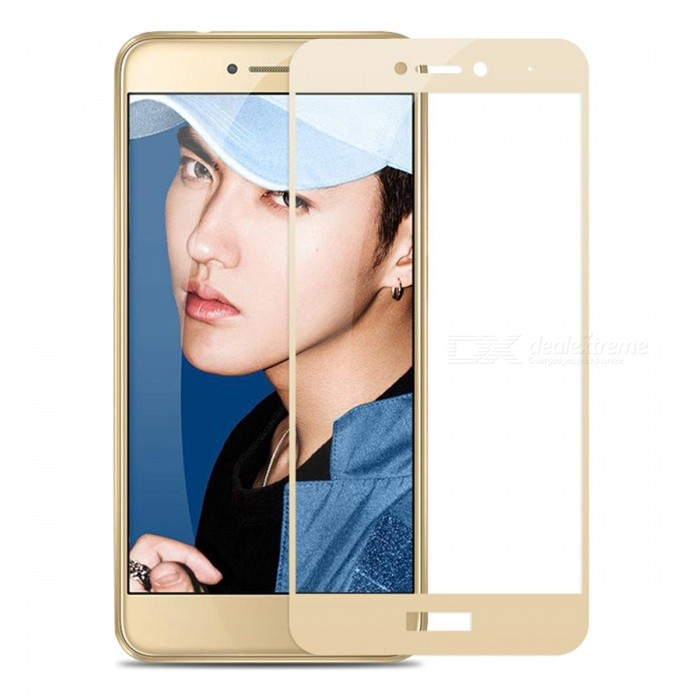 Naxtop Tempered Glass Screen Protector for Huawei Honor 8 Lite -GoldenScreen Protectors<br>Form  ColorGoldenScreen TypeGlossyModelN/AMaterialTempered GlassQuantity1 DX.PCM.Model.AttributeModel.UnitCompatible ModelsHuawei Honor 8 LiteFeatures2.5D,Fingerprint-proof,Scratch-proof,Tempered glassPacking List1 x Tempered glass film1 x Wet wipe1 x Dry wipe1 x Dust absorber<br>