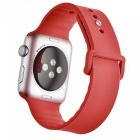Buy Miimall Soft Silicone Watch Strap Apple 42mm - Red