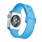 Buy Miimall Soft Silicone Watch Strap Apple 38mm - Blue