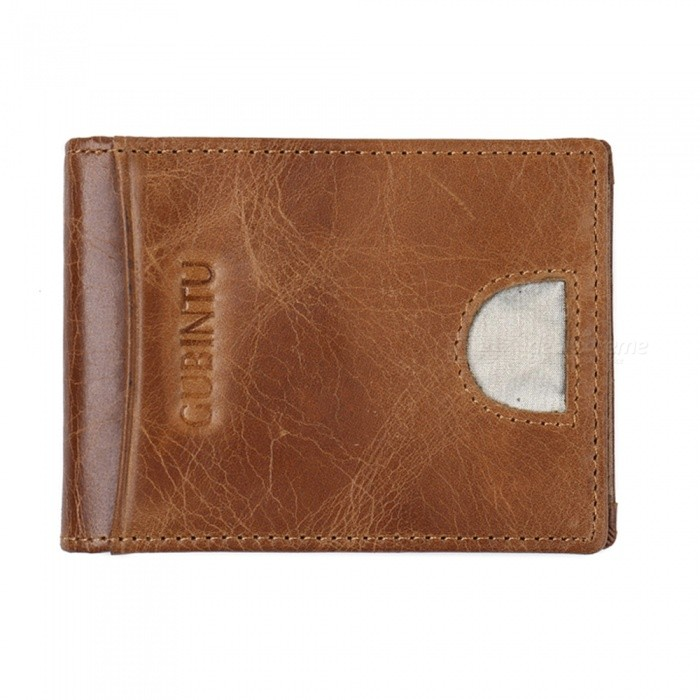 GUBINTU Mens PU Leather Wallet, Hasp Cards Holder - CoffeeWallets and Purses<br>Form  ColorCoffeeModel419#Quantity1 pieceShade Of ColorBrownMaterialLeatherGenderMenSuitable forAdultsOpeningHaspStyleFashionWallet Dimensions10.5*8*1.5Other Features1 currency, 4 card slots, 2 hidden cells.  1 photo slotPacking List1 x Wallet<br>