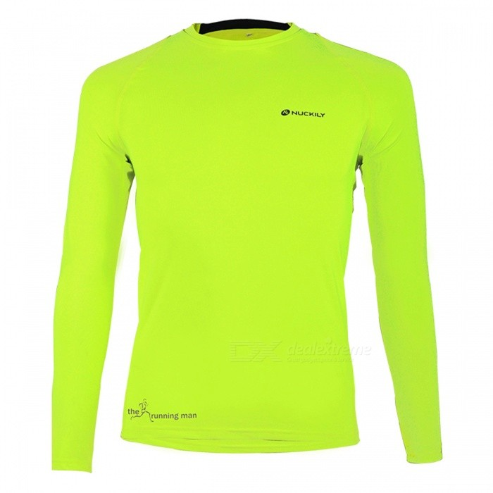 NUCKILY Riding Jacket for Spring Summer - Fluorescent Green (M)Cycle Clothing<br>Form  ColorFluorescent GreenSizeMModelMH010Quantity1 pieceMaterial89% Polyester + 11% SpandexGenderUnisexSeasonsSpring and SummerShoulder WidthNo cmChest Girth62 cmSleeve Length67.5 cmTotal Length86 cmWaistNo cmTotal LengthNo cmSuitable for Height160-165 cmBest UseCycling,Mountain Cycling,Recreational Cycling,Road Cycling,Bike commuting &amp; touringSuitable forAdultsTypeLong JerseysPacking List1 x Jersey<br>