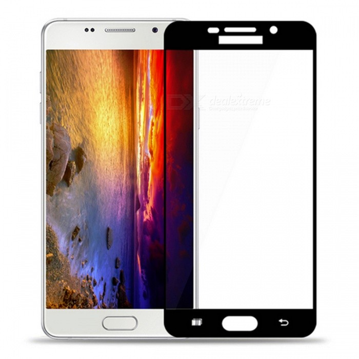Naxtop Tempered Glass Screen Protector for Samsung Galaxy A5 (2016)Screen Protectors<br>Form  ColorBlack for Samsung Galaxy A5 (2016)Screen TypeGlossyModelN/AMaterialTempered GlassQuantity1 DX.PCM.Model.AttributeModel.UnitCompatible ModelsSamsung Galaxy A5 (2016)Features2.5D,Fingerprint-proof,Scratch-proof,Tempered glassPacking List1 x Tempered glass film1 x Wet wipe1 x Dry wipe1 x Dust absorber<br>