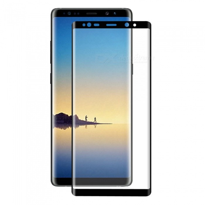 hatt-Prince Full Cover Tempered Glass Skyddsfilm för Galaxy Note 8