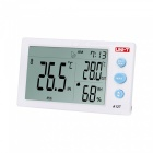 UNI-T A12T Digital Hygrometer with Probe - White (1.5V AAA Battery)