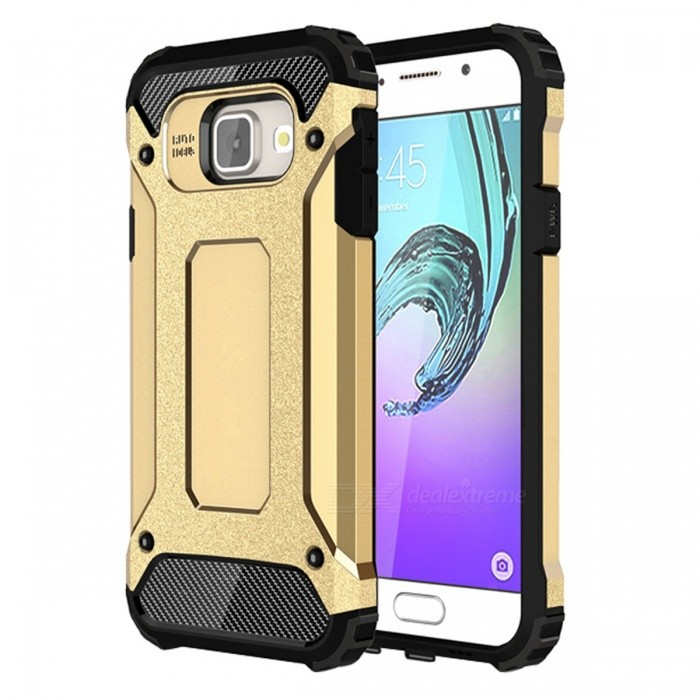 Dayspirit TPU PC Dual Layer Tasche für Samsung Galaxy A3 (2016)-golden