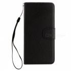 Dayspirit Lichee Pattern Leather Case for Huawei Honor 8 - Black