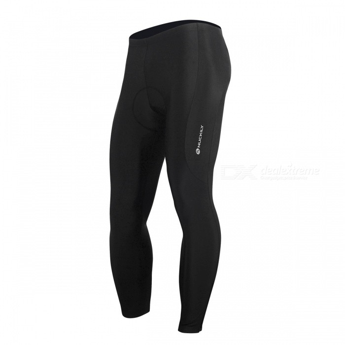 NUCKILY Summer Elastic Cycling Pants with Silicone Cushion - BlackForm  ColorBlackSizeXXXLModelMM007Quantity1 pieceMaterial89% Polyester + 11% SpandexGenderMensSeasonsSpring and SummerShoulder WidthNo cmChest GirthNo cmSleeve LengthNo cmWaist80 cmTotal Length98 cmCrotch Length20 cmLength Of Hem27 cmSuitable for Height185-195 cmBest UseCycling,Mountain Cycling,Recreational Cycling,Road Cycling,Triathlon,Bike commuting &amp; touringSuitable forAdultsTypeLong PantsPacking List1 x Pants<br>
