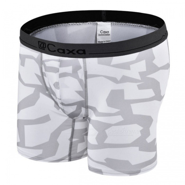 Caxa Mens Outdoor Quick Drying Antibacterial Underpants (2PCS)Form  ColorLight Grey + MulticoloredSizeXLModel15085Quantity1 DX.PCM.Model.AttributeModel.UnitMaterial90% polyester +10% spandexShade Of ColorGraySeasonsFour SeasonsGenderMensWaist68-103 DX.PCM.Model.AttributeModel.UnitHip Girth94 DX.PCM.Model.AttributeModel.UnitThigh Girth50-80 DX.PCM.Model.AttributeModel.UnitTotal Length28 DX.PCM.Model.AttributeModel.UnitBest UseCross-training,Yoga,Running,Climbing,Camping,Mountaineering,Travel,Cycling,FishingSuitable forAdultsPacking List2 x Underpants<br>
