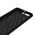 Dayspirit Wire Drawing Carbon Fiber TPU Väska till Huawei P10 Plus