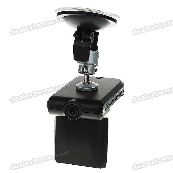 "1.3MP Rechargeable Wide Angle Digital Portable Car DVR Camcorder w/ Mini USB/SD (2.5"" LCD)"