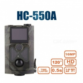Wildlife Camera 16MP HD 1080P Infrared Night Vision, IR LED PIR Sensor