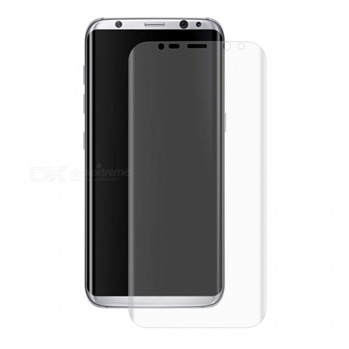 Hat-Prince Full Screen Guard for Samsung Galaxy S8 Plus - TransparentScreen Protectors<br>Form  ColorTransparentScreen TypeGlossyModel-MaterialPETQuantity1 pieceCompatible ModelsSamsung Galaxy S8+Features3D,HDPacking List1 x Protector1 x Dust Remover1 x Cleaning Cloth1 x Alcohol Prep Pad<br>