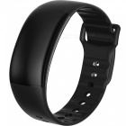 A69 Smart Armband Armband 24H Auto Heart Rate Monitoring - Svart