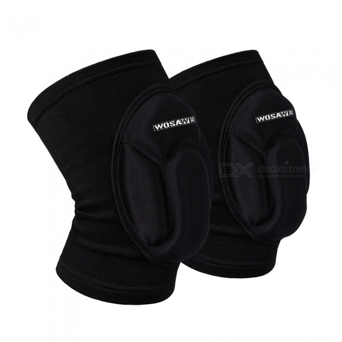 WOSAWE BC317 Knee Pad Guard - Black (One Size)Knee Pads<br>Form  ColorBlackModelBC317Quantity1 pieceMaterialPolyester / EVAPacking List1 x Knee pad<br>