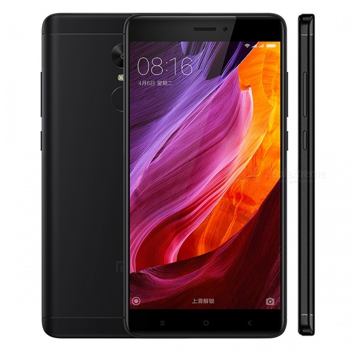 Global Version Xiaomi Redmi Note 4 4G Phone w/ 3GB RAM, 32GB - BlackAndroid Phones<br>Form  ColorBlackRAM3GBROM32GBBrandXiaomiModelRedmi Note 4Quantity1 pieceMaterialAluminum alloyShade Of ColorBlackTypeBrand NewPower AdapterEU PlugNetwork Type2G,3G,4GBand Details2G:GSM: 850/900/1800/1900MHz 3G:WCDMA:  850/900/1900/2100MHz; 4G:FDD LTE B5:850 /B8:900 /B4:1700 /B3:1800 /B1:2100 /B7:2600  /B20:800  TD LTE B38:2600MHz  B40:2300MHz B38:2600/B39:1900/B40:2300/B41:2555-2655MHzData TransferGPRS,HSDPA,EDGE,LTE,HSUPAWLAN Wi-Fi 802.11 a,b,g,n,acSIM Card TypeMicro SIM,Nano SIMSIM Card Quantity2Network StandbyDual Network StandbyGPSYesBluetooth VersionBluetooth V4.2Operating SystemAndroid 6.0CPU ProcessorMTK Helio X20CPU Core QuantityOcta-CoreGPUMali T880LanguageRussian,German,Spanish,Polish,Turkish,English,Itali......Available Memory28GBMemory CardSDMax. Expansion Supported128GBSize Range5.5 inches &amp; OverTouch Screen TypeIPSScreen Resolution1920*1080Screen Size ( inches)5.5Camera Pixel13.0MPFront Camera Pixels5.0 MPVideo Recording Resolution3GP, MP4, AVI,etcFlashYesAuto FocusYesTouch FocusYesTalk Time28-30 hourStandby Time250-280 hourBattery Capacity4100 mAhBattery ModeNon-removablefeaturesWi-Fi,GPS,BluetoothSensorG-sensor,Compass,Others,Light sensorWaterproof LevelIPX0 (Not Protected)I/O InterfaceMicro USB,3.5mmJAVAYesReference Websites== Will this mobile phone work with a certain mobile carrier of yours? ==CertificationCE FCCPacking List1 x Original Xiaomi Redmi Note 4 Global version Cellphone1 x EU Charger1 x USB Cable1 x Battery (Built-in)1 x User Manual<br>