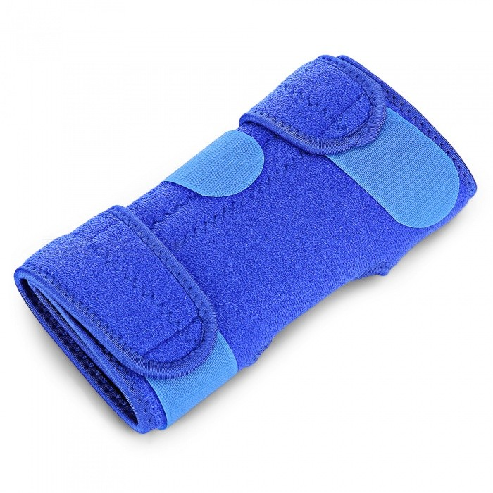 HX004 4-Spring Adjustable Sports Knee Pad for Outdoor Riding - BlueForm  ColorBlueModelHX004Quantity1 pieceMaterial39% Nylon, 29% Rubber, 14% Polyester, 12% Silicone, 6% Chloro fibreBest UseMultisport,Running,Climbing,Rock ClimbingSizeFree SizeTarget PositionKneePacking List1 x HX004 Knee Pad<br>
