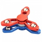 Dual Layer Hand Spinner EDC Fidget Toy-Rot, Blau