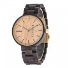 Buy Redear Handmade Natural Sandal Wooden Quartz Watch Men