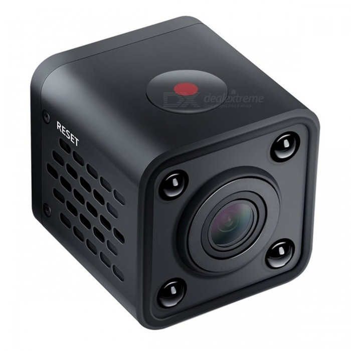 1080P Mini Wi-Fi IP Camera with Infrared Night Vision ...