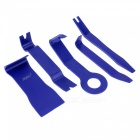 ZIQIAO Car Radio Dash Audio Removal Pry Tool (5Pcs/Set) - Blue