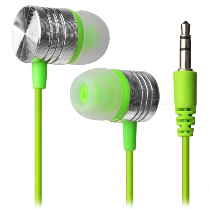 M3 In-Ear 3.5mm Wired Earphone for Cell Phones, Tablet PC - GreenHeadphones<br>Form  ColorGreenBrandOthers,N/AModelA9100MaterialPlastic + alloyQuantity1 DX.PCM.Model.AttributeModel.UnitConnection3.5mm WiredBluetooth VersionNoConnects Two Phones SimultaneouslyNoCable Length100 DX.PCM.Model.AttributeModel.UnitLeft &amp; Right Cables TypeEqual LengthHeadphone StyleBilateral,In-EarWaterproof LevelIPX2Applicable ProductsUniversalHeadphone FeaturesHiFi,Lightweight,PortableRadio TunerNoSupport Memory CardNoSupport Apt-XNoChannels2.0Packing List1 x Wired Earphone<br>