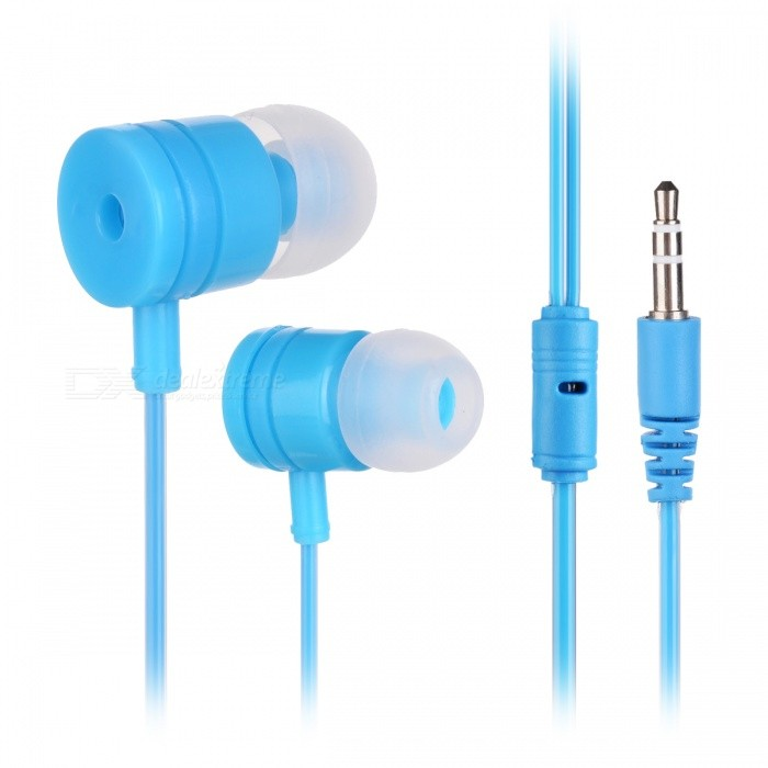 M4 Stylish In-Ear Earphones for Cell Phones / Tablet PCs - BlueHeadphones<br>Form  ColorBlueBrandOthers,N/AMaterialPlastic + alloyQuantity1 pieceConnection3.5mm WiredBluetooth VersionNoConnects Two Phones SimultaneouslyNoCable Length113 cmLeft &amp; Right Calbes TypeEqual LengthHeadphone StyleIn-EarWaterproof LevelIPX2Applicable ProductsUniversalHeadphone FeaturesHiFiRadio TunerNoSupport Memory CardNoSupport Apt-XNoChannels2.0Packing List1 x Earphone<br>