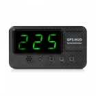 Buy Universal Car HUD GPS Speedometer Head-up Display - Black