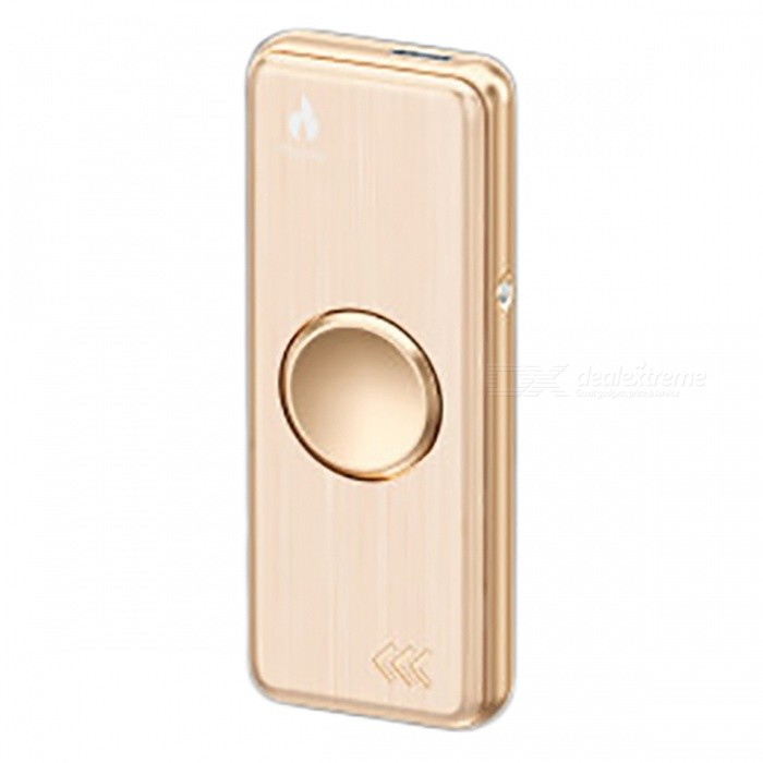 ZHAOYAO USB Cigarette Lighter Fidget Spinner w/ LED Light - GoldenOther Lighters<br>Form  ColorRose GoldMaterialAlloyQuantity1 piecesShade Of ColorGoldTypeUSBPower SupplyLithium batteryCharging Time2 hourPacking List1 x Lighter/Fidget Spinner1 x USB cable2 x Heating wires<br>