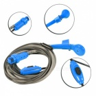 DC 12V Portable Car Shower Washer Set for Outdoor Camping - Blue