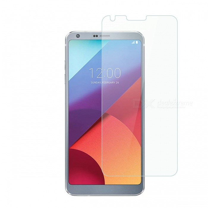 Dayspirit Tempered Glass Screen Protector for LG G6Screen Protectors<br>Form  ColorTransparentScreen TypeGlossyModelN/AMaterialTempered glassQuantity1 pieceCompatible ModelsLG G6Features2.5D,HD,Fingerprint-proof,Scratch-proof,Tempered glassPacking List1 x Tempered glass screen protector1 x Dust cleaning film 1 x Alcohol prep pad<br>