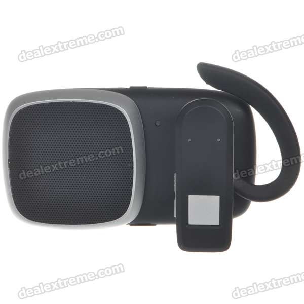 Rechargeable Bluetooth Handsfree Car Kit with Headset (DC 12~24V)